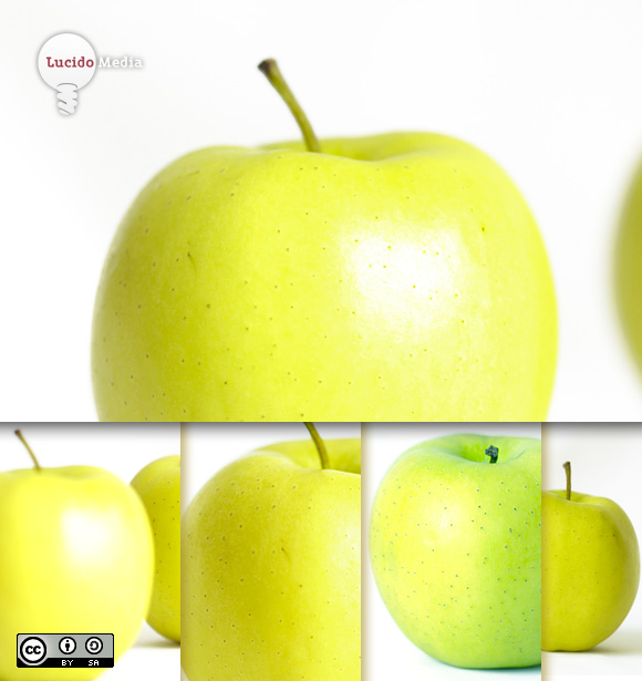 Apfel Stockfotos