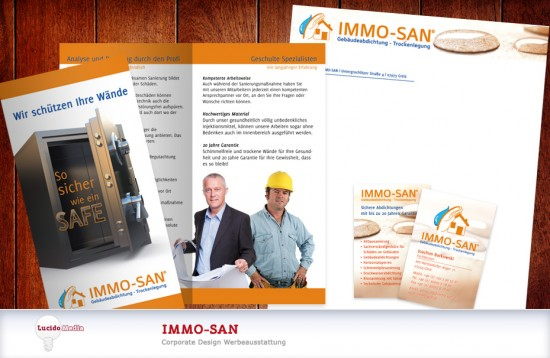 IMMO-SAN Corporate Printdesign