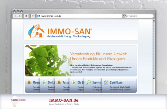 immo-san website